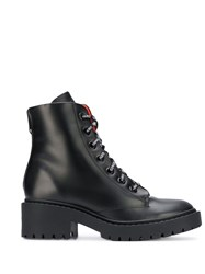 Kenzo Lace Up Boots Black