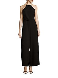Keepsake Clockwork Halterneck Jumpsuit Black