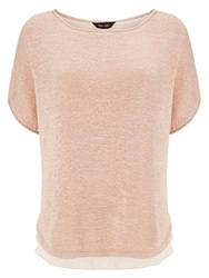 Phase Eight Tape Yarn Macey Knit Top Pink