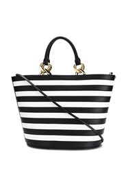 Balmain Gloria Panier Tote Bag Black