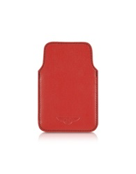 Bentley Ettinger Leather Blackberry Case Red