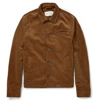 Oliver Spencer Buffalo Corduroy Jacket Brown