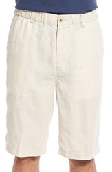 Tommy Bahama Men's Big And Tall 'Linen Out Loud' Linen Shorts Natural Linen