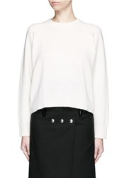 Alexander Wang Cashmere Wool Sweater White