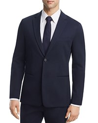Theory Newson Cotton Deconstructed Slim Fit Suit Separate Sport Coat 100 Exclusive Royal Navy