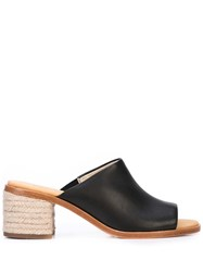 Soludos Open Toe Mules Black
