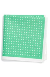 Nordstrom Boy's Dot Cotton Pocket Square