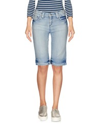 Tommy Hilfiger Denim Bermudas Blue
