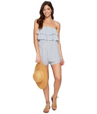 Billabong Ruffle Up Walkshorts River Women's Jumpsuit And Rompers One Piece Blue
