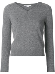 Stella Mccartney V Neck Sweater Grey
