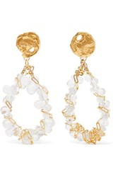 Alighieri Gold Plated And Bead Earrings One Size
