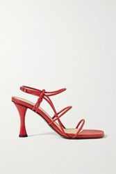 Proenza Schouler Leather Sandals Red