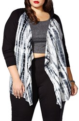 Mblm By Tess Holliday Plus Size Women's Hooded Cardigan