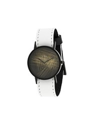 South Lane Avant Verge Watch Calf Leather Stainless Steel White
