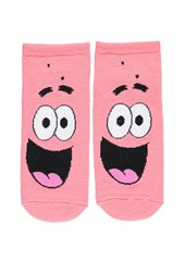 Forever 21 Patrick Star Ankle Socks Watermelon Black