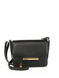 Jason Wu Diane Petite Leather Shoulder Bag Black