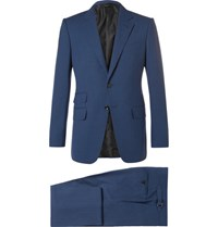 Tom Ford Blue O'connor Slim Fit Wool Suit Blue