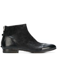 Moma Western Ankle Boots Black