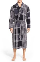 Men's Nordstrom Terry Shawl Robe Black