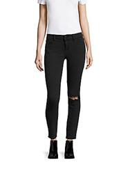 Dl1961 Margaux Skinny Fit Distressed Jeans Busted