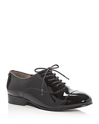 Ivanka Trump Olie Cap Toe Oxfords Black