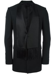 Givenchy Scarf Lapel Blazer Black