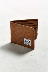 Herschel Supply Co. Quilted Roy Bi Fold Wallet Taupe