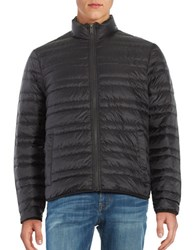 Michael Kors Down Quilted Puffer Coat Black