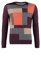 United Colors Of Benetton Jumper Bordeaux