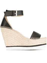 See By Chloa 'Glyn' Wedge Espadrilles Black