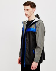 Rains Breaker Jacket Grey Multi