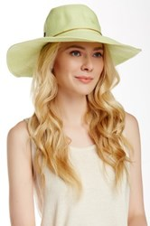 Flora Bella Margarite Toyo Braided Paper Straw Hat Green