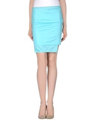 Cheap Monday Knee Length Skirts Turquoise