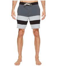 Vans Era Panel Boardshorts 19 Dark Slate Quarry Men's Swimwear Multi