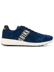 Bikkembergs Lace Up Sneakers Blue