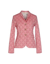 True Tradition Suits And Jackets Blazers Women Brick Red
