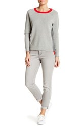 Nydj Nichellle Rolled Cuff Ankle Jean Petite Gray