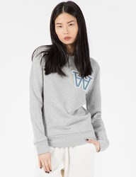 Wood Wood Light Grey Maya Sweater
