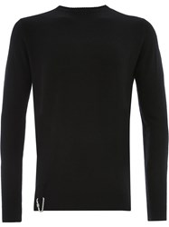 Matthew Miller Fine Knit Sweater Black