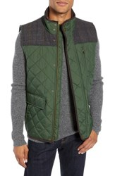 Vince Camuto Quilted Vest Olive
