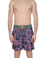Maaji Swim Trunks Purple