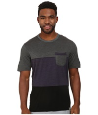 Smartwool Routt County Tee Charcoal Men's T Shirt Gray