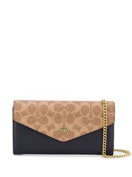Coach Wallet On Chain Blue