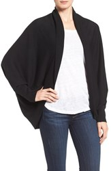 Nordstrom Women's Knit Cocoon Cardigan Black