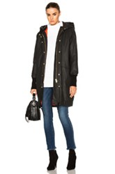 Smythe Dark And Stormy Anorak In Black