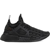 Adidas Nmd Xr1 Patterned Textile Trainers Black Mono