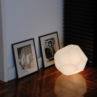 Innermost Asteroid Plastic Floor Table Lamp