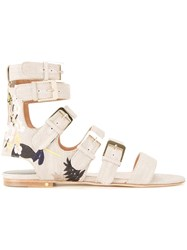 Laurence Dacade Tropical Sandals Neutrals