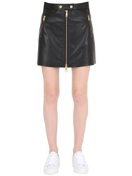 Tommy Hilfiger Gigi Hadid Leather Mini Skirt