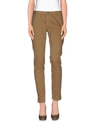 People Trousers Casual Trousers Women Camel